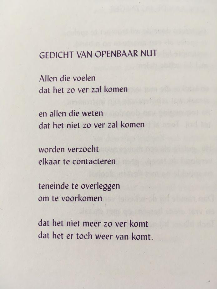 Een gedicht van Coenraed.