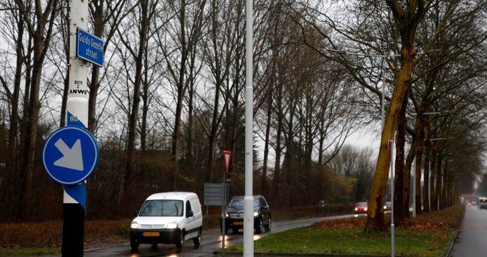 De politie controleerde onlangs op hardrijders nabij de rotonde op de Guido Gezellestraat en Rooseveltlaan.
