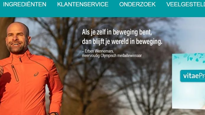 Voormalig topschaatser Erben Wennemars gebruikt de vitaminen ook.