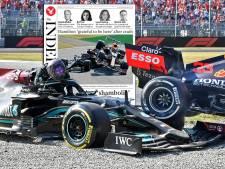 Buitenlandse media vrezen 'gevaarlijke' titelstrijd Hamilton en Verstappen: 'Tijd om ermee te stoppen'