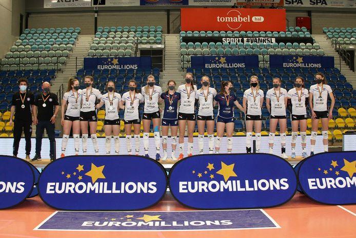 Ladies Volley Limburg botste in de titelfinale op een sterk Asterix.