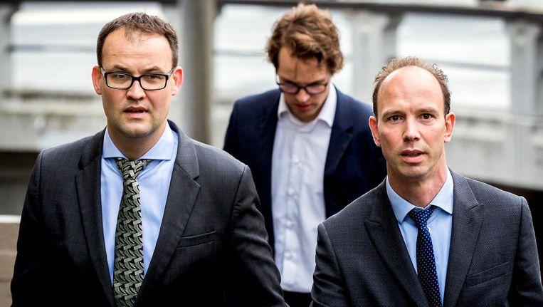Advocaten Robert Malewicz (links) en Sander Janssen Beeld anp