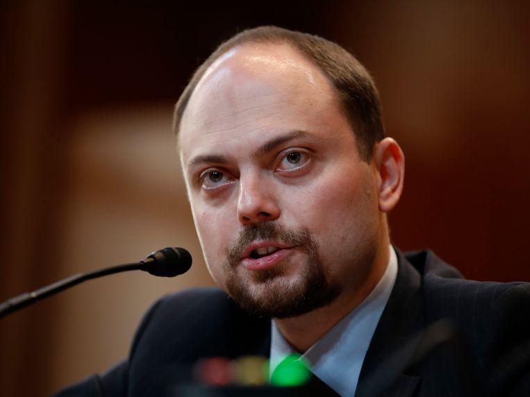 Vladimir Kara-Moerza in 2017. Beeld AP