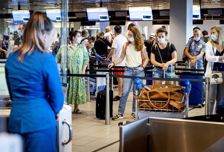 De EU vraagt lidstaten om reizigers uit groene gebieden geen reisbeperkingen op te leggen.  Beeld ANP