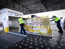 Les premiers vols avec vaccins sont déjà passés par Brussels Airport