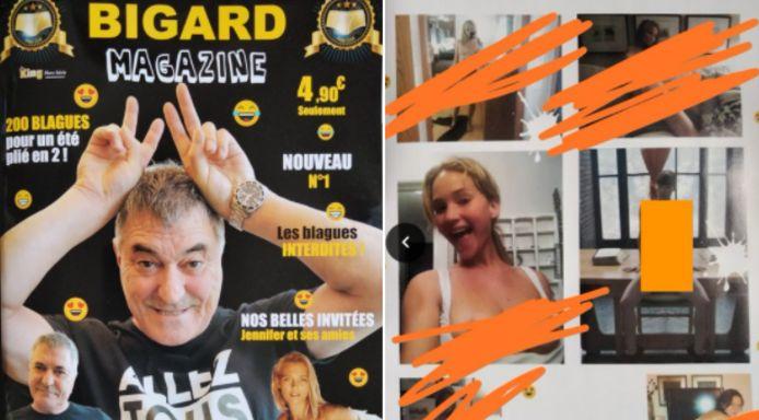 """Le premier numéro du """"Bigard Magazine"""" devrait également être le dernier."""