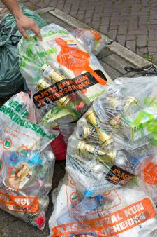 Ongeveer helft van plastic en blik in regio Nijmegen wordt niet gerecycled, maar gaat gewoon de oven in