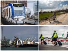 Hierover gaan de verkiezingen voor de Rotterdamse regio: sluit het vliegveld en waar komen de huizen?