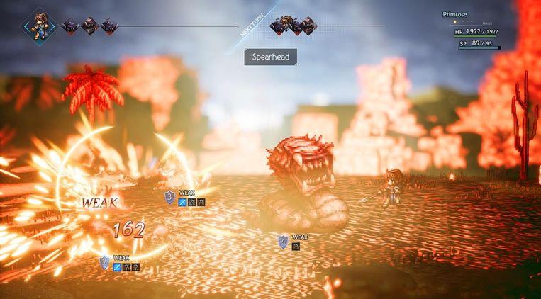 'Octopath Traveler': een uitgesproken old school-fantasygame. Beeld Square Enix