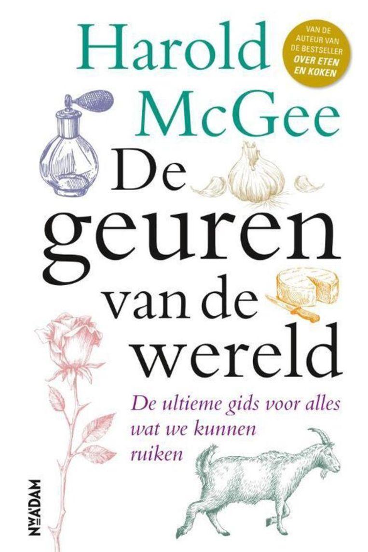 Het boek van Harold McGee: 'De geuren van de wereld'. Beeld