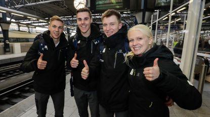 Eerste atleten Team Belgium vertrokken