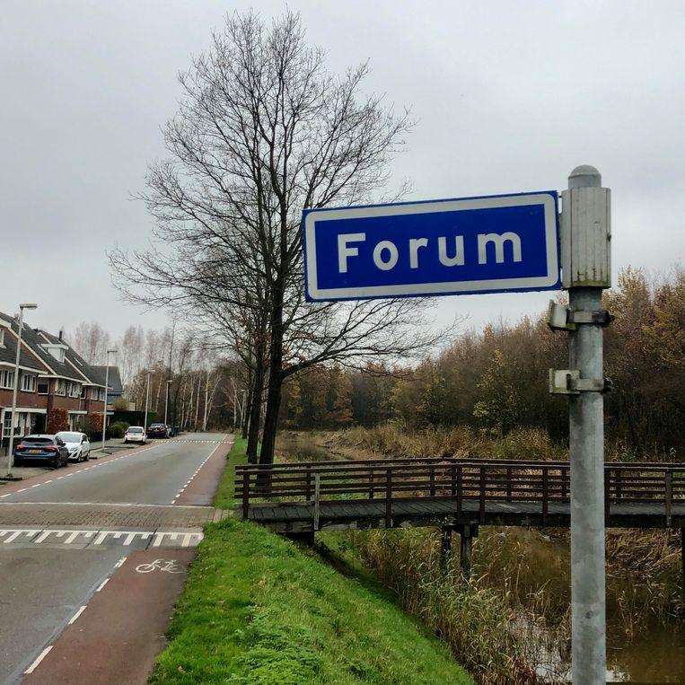 De straat Forum.  Beeld Toine Heijmans