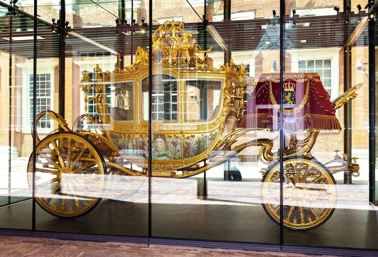 Het is niet ondenkbaar dat het dat het rijtuig definitief in een museum belandt. Beeld Nina Schollaardt