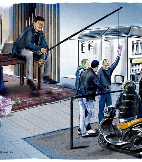 Politie vangt 69 geldezels, goed voor 300.000 euro witwasgeld: 'Vaak zijn het kwetsbare jongeren'