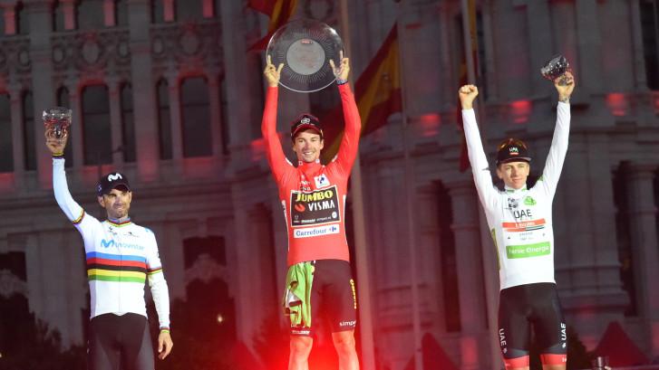 Jakobsen sprint naar winst in Madrid, Roglic wint Vuelta
