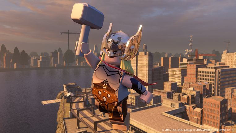 Jane Foster. Beeld WB Games