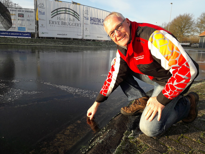 Henk Dijksterhuis, voorzitter van IJSCH.