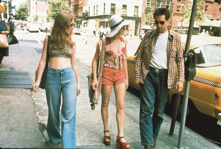 Taxi Driver  VS 1976  Regie: Martin Scorsese  Cast: Robert De Niro (Travis Bickle), Jodie Foster (Iris) Beeld gratis