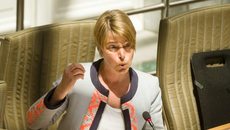 Vlaams minister van Omgeving Joke Schauvliege (CD&V) Beeld belga