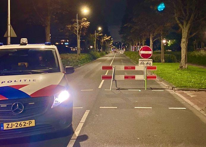 Een automobiliste is op de bon geslingerd voor het negeren van deze gesloten verklaring op de Thorbeckelaan in Sliedrecht.
