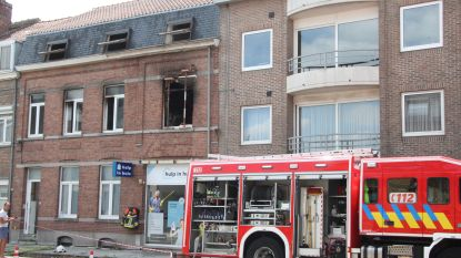 Moeder en twee kindjes kunnen ontkomen na keukenbrand in appartement in Ieper