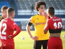 Le Standard partage face à Dortmund et Witsel, Charleroi bat Cologne