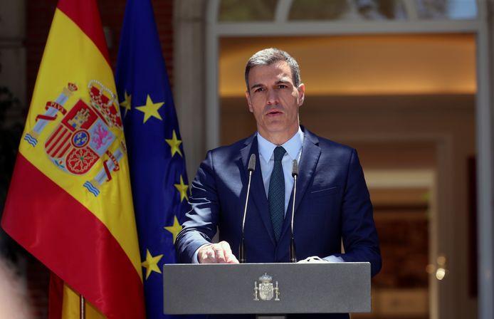 Le Premier ministre espagnol, Pedro Sanchez