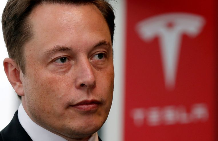 Tesla-oprichter Elon Musk.