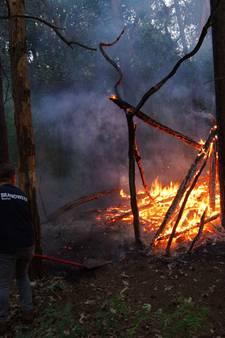 Politie vraagt: 'Wees alert op bospyromaan rondom Loon op Zand'