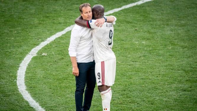 """Deense bondscoach blikt terug op mentaal lastige partij tegen België: """"Sommige spelers moesten overgeven in de kleedkamer"""""""