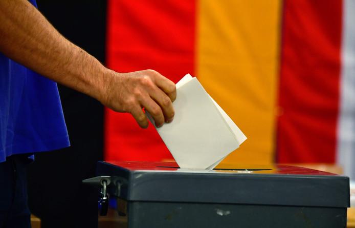 De stembureaus in Duitsland zijn geopend.