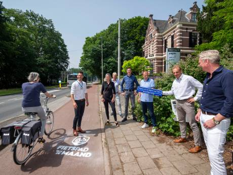 Accountants adopteren eerste Fietspad van de Maand, een nieuw initiatief van oud-prof Maarten Tjallingii