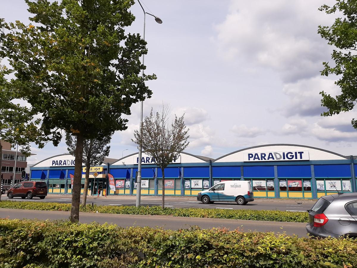 De winkel van Paradigit aan de Beemdstraat in Eindhoven.