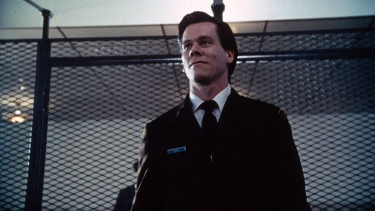 Kevin Bacon in Sleepers. Beeld