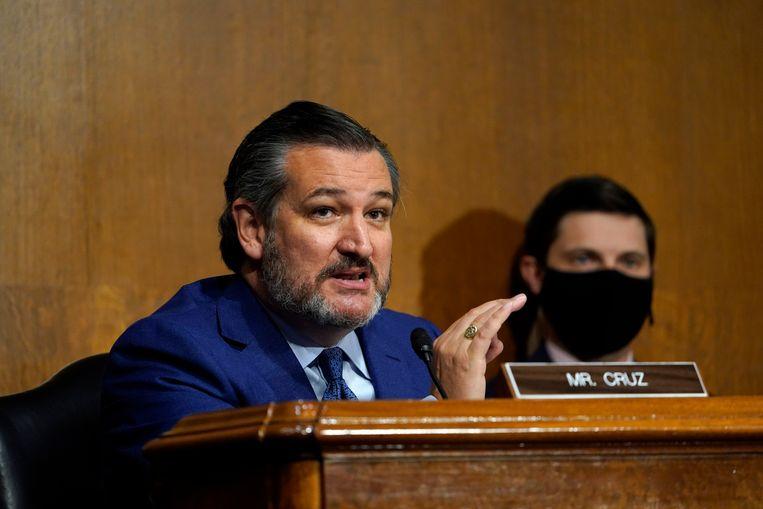 Republikeins senator Ted Cruz. Beeld Hollandse Hoogte / European Press Agency (EPA)