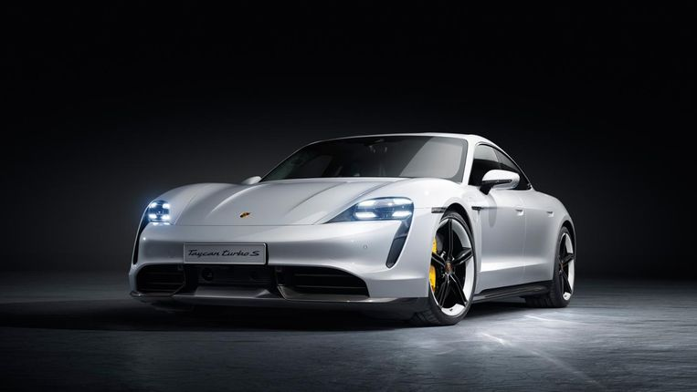 Porsche Taycan Beeld