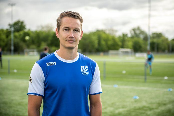 Kevin Hollander, de nieuwe trainer van derdedivisionist Goes.