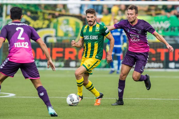 Edouard Duplan begon aan dit seizoen als basisspeler tegen FC Utrecht, maar hij raakte zijn vaste plek bij ADO Den Haag al snel kwijt. Zondag gaat ADO op bezoek in Utrecht.