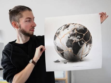 """""""Global Resilience"""", l'œuvre de NOIR Artist au profit de Médecins Sans Frontières"""