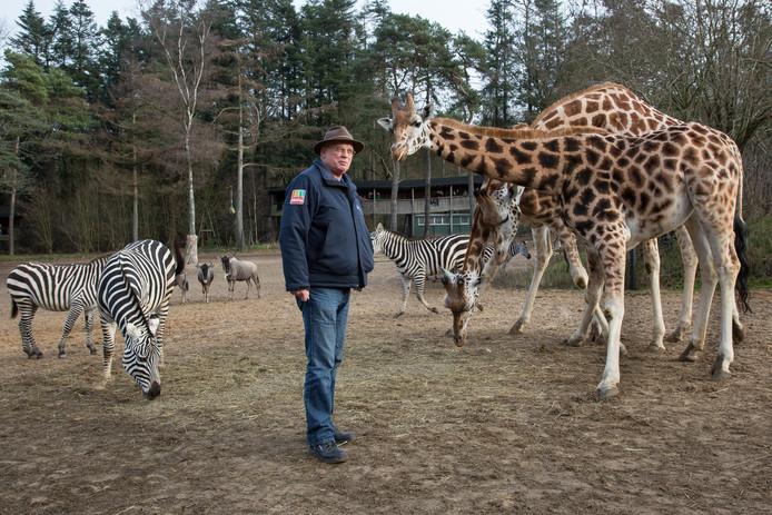 Als 15-jarige begon Ton bij de dierentuin met vakantiewerk. ,,Het was vooral stront scheppen en paden aanvegen.''