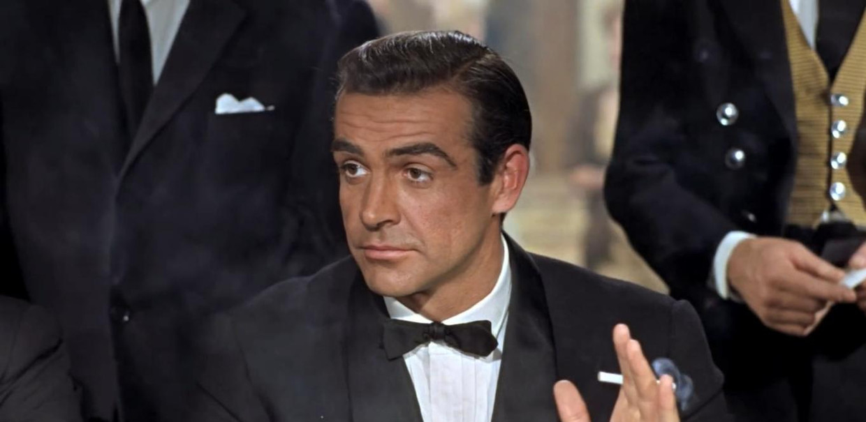 Sean Connery in 'Dr. No' Beeld