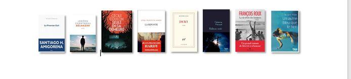 Les 8 livres sélectionnés pour l'édition 2021 du Prix Filigranes.