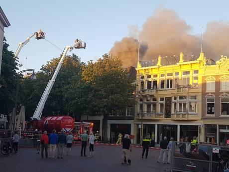 Oplossing voor getroffen ondernemers Brink-brand