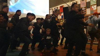Vierjarige danst feilloos de haka