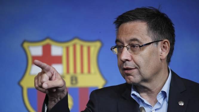FC Barcelona staat op zijn kop: Bartomeu maakt in open brief gehakt van opvolger Laporta