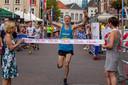 De winnaar van de Halve Marathon van vorig jaar, Patrick Kwist uit Rotterdam.