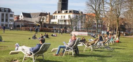 Genieten geblazen: lekker weer, dus Utrecht trekt erop uit