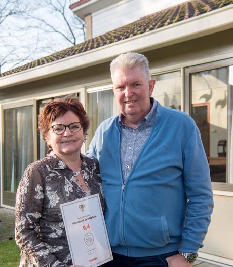 Zoover Award beloning voor gastvrijheid bungalowpark in Ommen