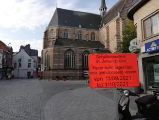 Werft naast Sint-Amandskerk tijdelijk enkel toegankelijk voor fietsers en voetgangers