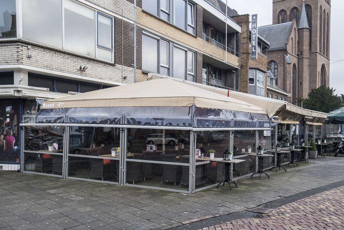 Cafe De Blauwe Engel.